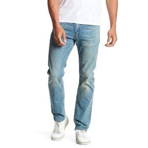Levi's Light Wash 513 Slim Straight Leg Jeans